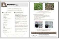 Parazone 3SL Herbicide Flyer