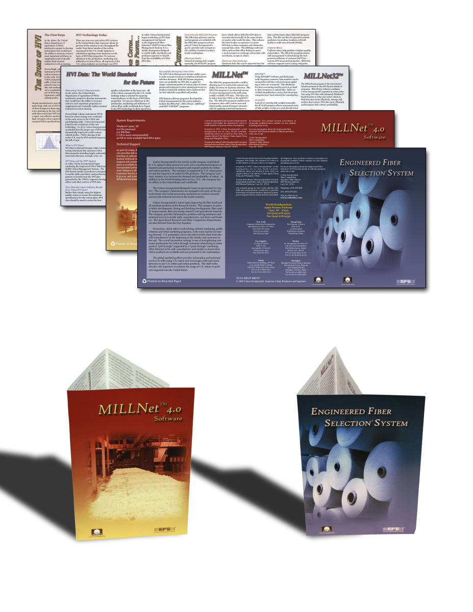 Cotton Engineered Fiber Selection System Brochures