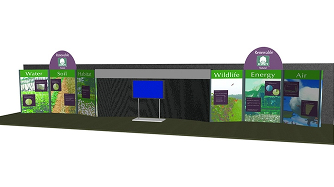 Beltwide Cotton Conferences booth for Cotton Inc