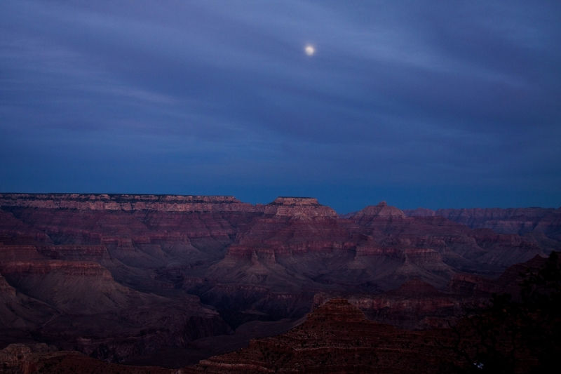 Nightfall at the Canyon