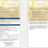 Brochure: Sunflower Initiative